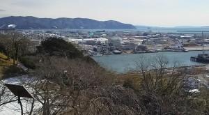 石巻日和山からの景色1